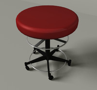 cinema4d red stool