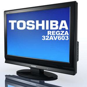 3ds tv toshiba regza 32av603