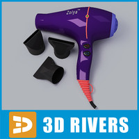 Zolya hairdryer by 3DRivers