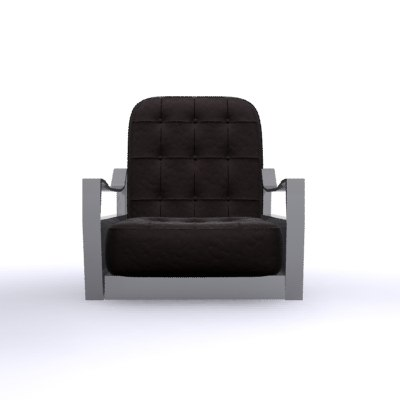 armchair chair leather max