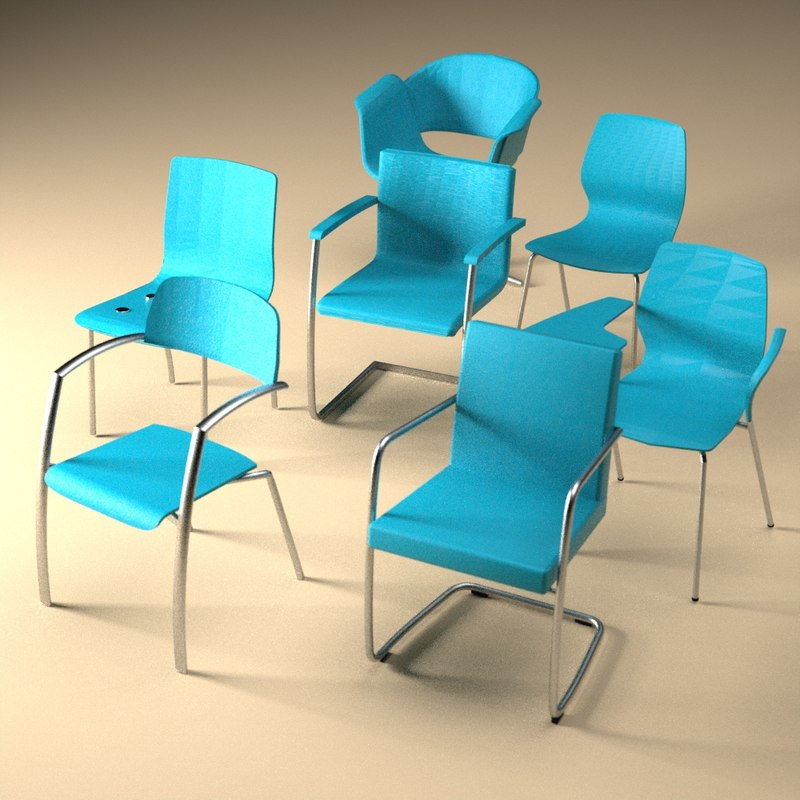 3ds chairs office
