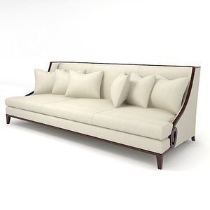3ds max christopher guy sofa