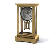 Classic Antique Fireplace Clock
