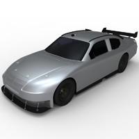3d model nascar cot car cup