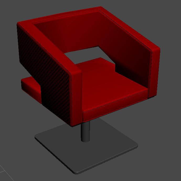 cubic armchair max