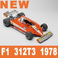 f1 312t3 1978 3d model