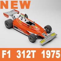 f1 312t 1975 3d max