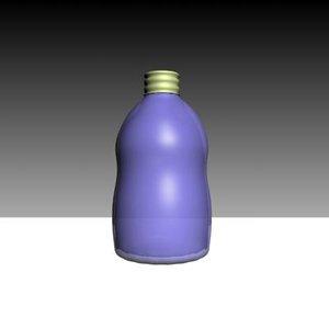 3dsmax wine bottle