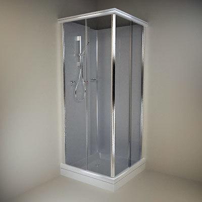 3ds shower cabin