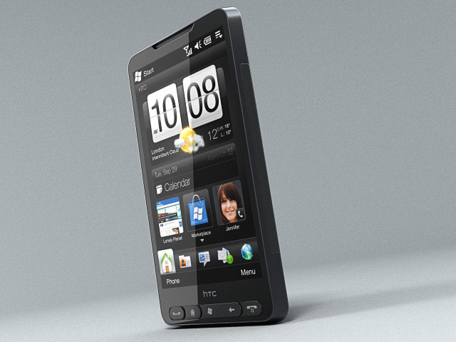 htc hd2 leo animated