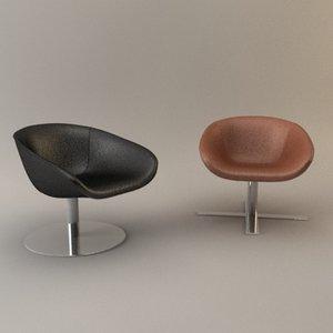 maya designer swivel chair