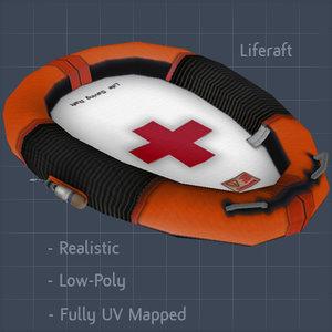 emergency raft 3ds