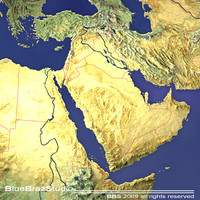 3d middle east model