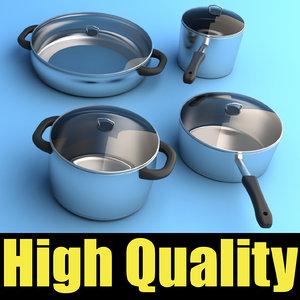 set kitchen pots max