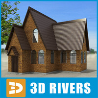 Small town house 12 by 3DRivers