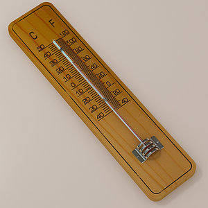 3d thermometer thermo