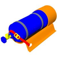 3d oxygene tube