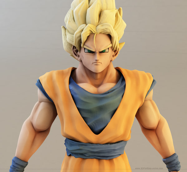 Dragon Ball Z 3d Models For Download Turbosquid