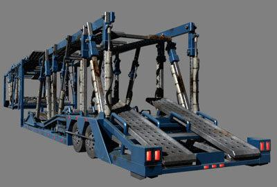 3d model auto transporter