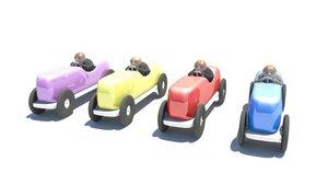 ma cartoon racecars