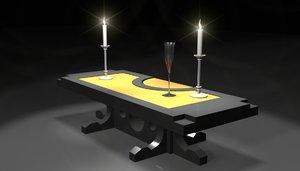 modern coffee table max