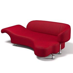 3d edra sofa model