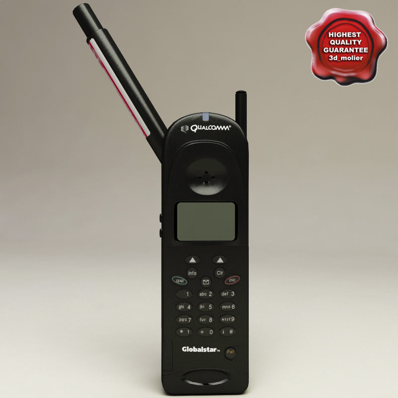 3d handheld globalstar gsp-1600 model