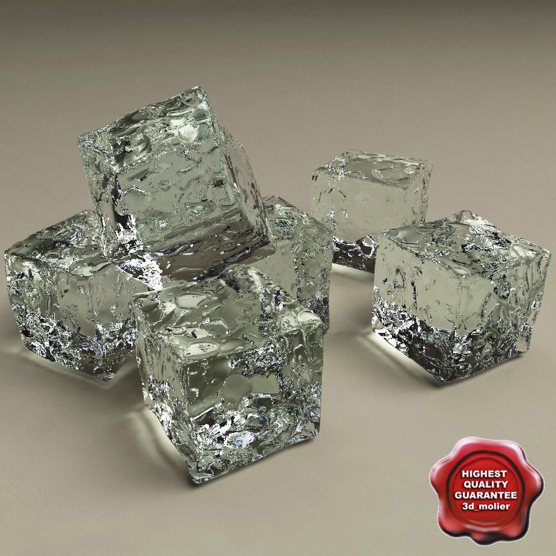 3d max ice cube
