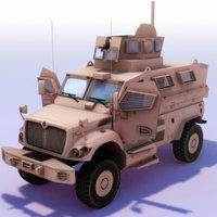 maxxpro mrap 3d model