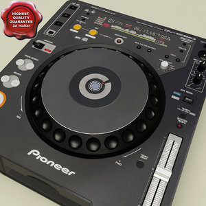 3ds max pioneer cdj 1000 mk3