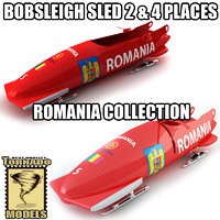 max bobsleigh sled - romania