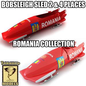 max bobsleigh sled - romania