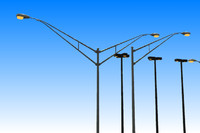 3d model street lights
