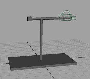 free powerful camera rig 3d model