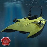 scubacraft underwater speedboat max