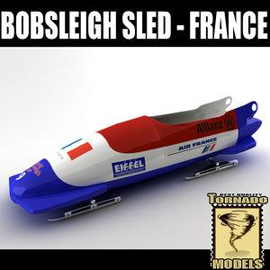 max bobsleigh sled - france