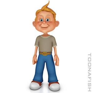 lwo boy cartoon
