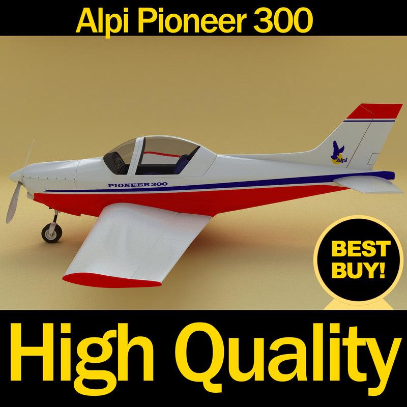 max alpi pioneer 300 airplane