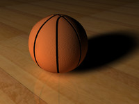 3ds max basketball ball