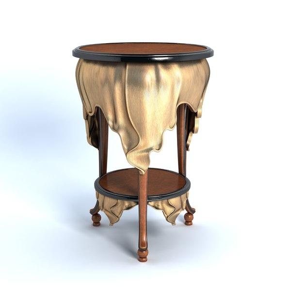 3d bellotti - table