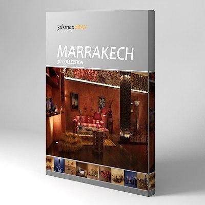 3d marrakech model