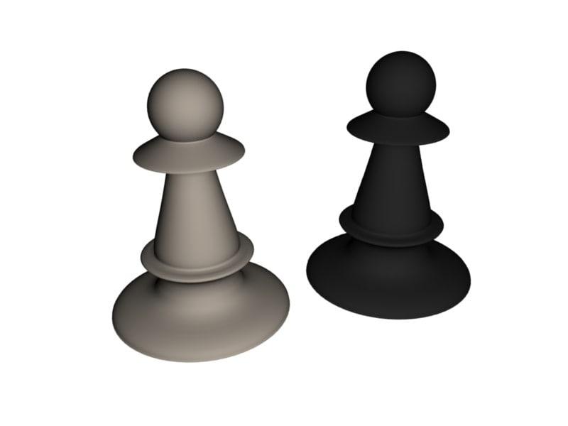 blend chess pawn