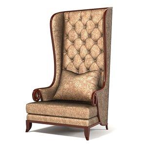 christopher guy chair 60-0053 3d model
