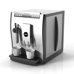 3d model of coffe