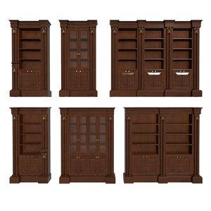3d francesco molon - bookcase