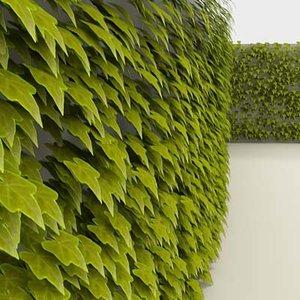 greenscreen vine leaves max