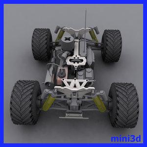 3d 4x4 monster truck