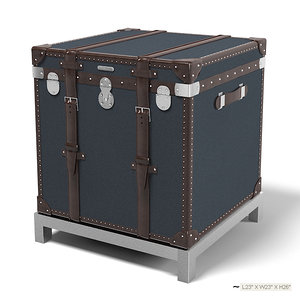 3ds max ralph lauren trunk