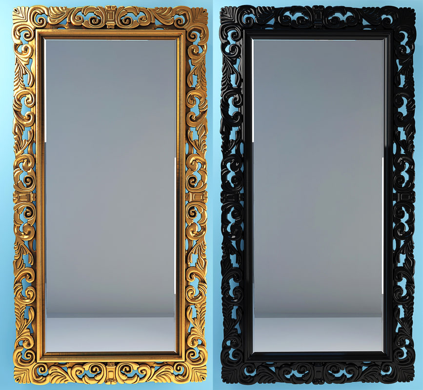 modà replica mirror 3d model