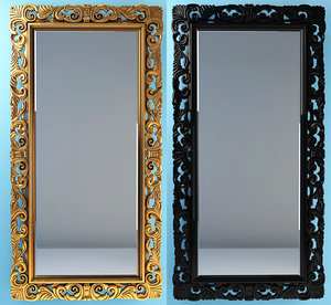 modà replica mirror 3d model